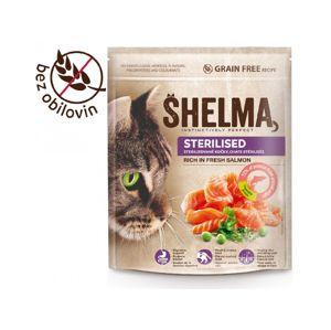 Shelma Sterile bezobilné granule pro dospělé kočky 750g
