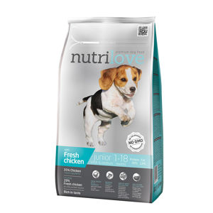 Nutrilove dog dry JUNIOR S and M 1,6kg