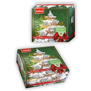 Dárková kolekce prémiových čajů s herbářem