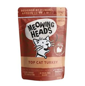 MEOWING HEADS Top Cat Turkey kapsička