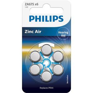 Baterie do naslouchadel Philips - ZA675B6A Velikost: 5+1 ZDARMA